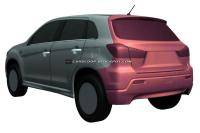Mitsubishi´s crossover deels onthuld