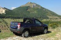 Dacia Duster in Roemenië als pick-up