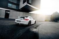 Techart geeft Porsche Cayman racelooks
