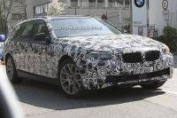 BMW 5-serie Touring verliest camouflage