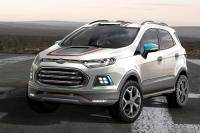 Ford presenteert speels Ecosport-trio