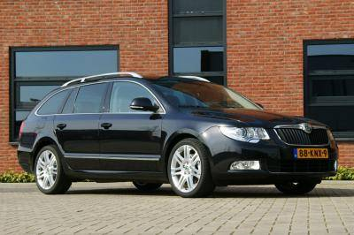 Skoda Superb Combi Greenline. Test Skoda Superb Combi