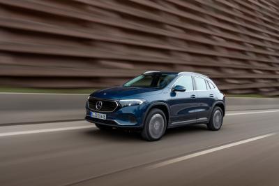 Elektrische Mercedes EQA krijgt per direct 4WD en een powerboost
