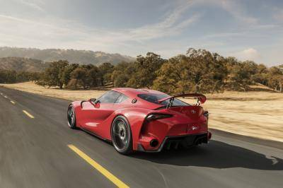 2. Toyota FT-1 Concept