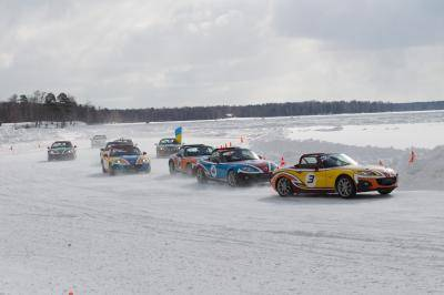 From Russia with love: Mazda MX-5 Ice Race 2014