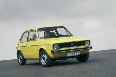 De highlights van 40 jaar Volkswagen Golf