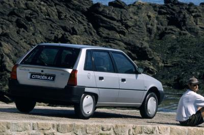 5. 'Citroën AX het voordeligst'