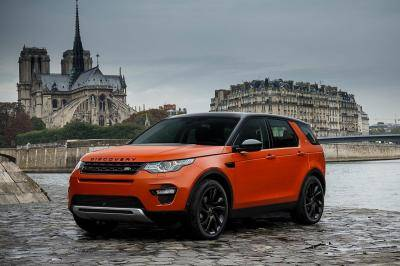 Compacte offroader: Land Rover Discovery Sport