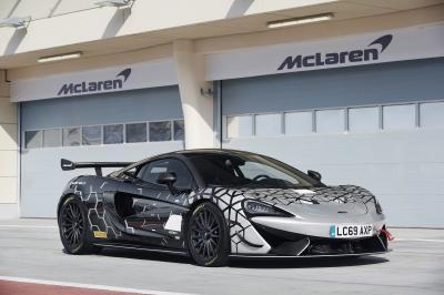 McLaren 620R: volbloed GT4-racer voor op straat