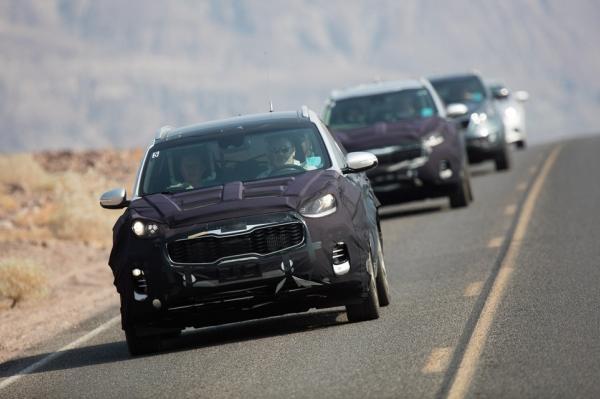 Wat testen autofabrikanten in extreme hitte?