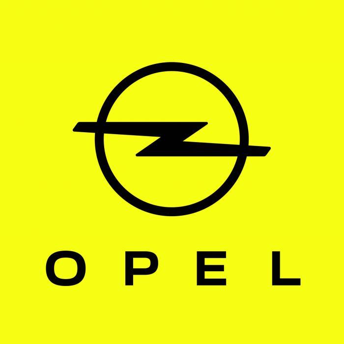 Zien jullie wat er nieuw is aan het logo van Opel?
