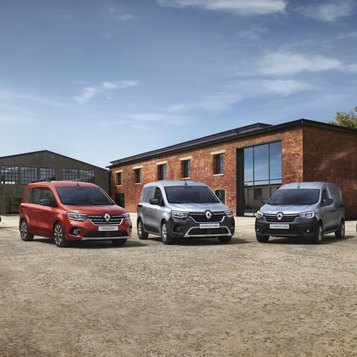 Nieuwe Renault Kangoo ook weer volledig elektrisch