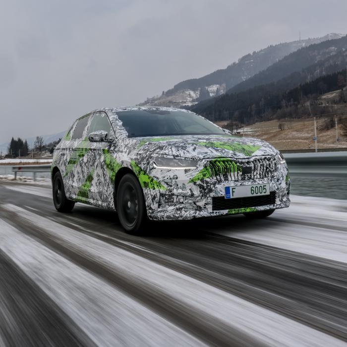 Nieuwe Skoda Fabia is langer dan een Volkswagen Golf
