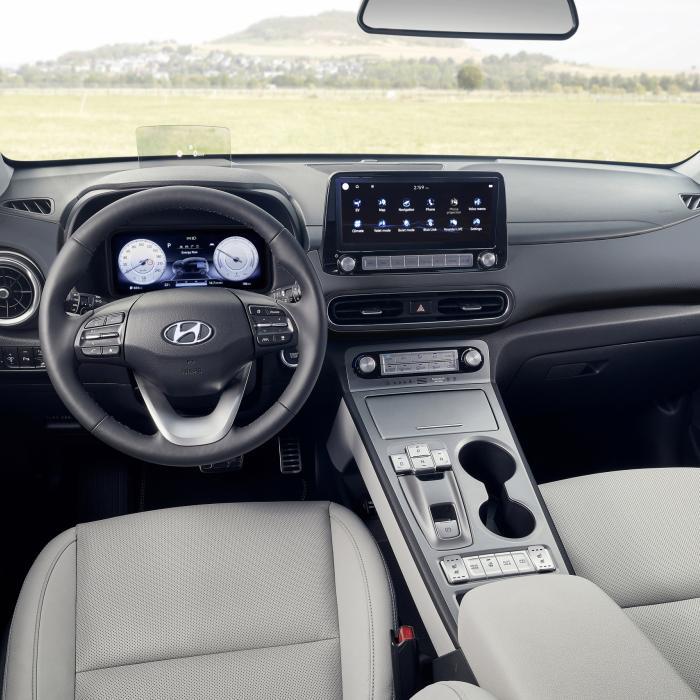 Gefacelifte Hyundai Kona Electric komt strakker voor de dag
