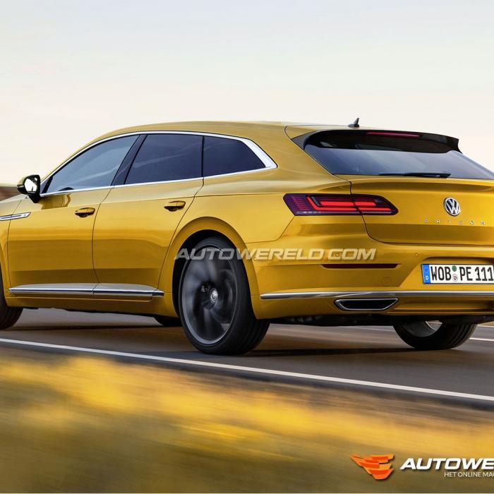 Volkswagen Arteon Shooting Brake komt eraan