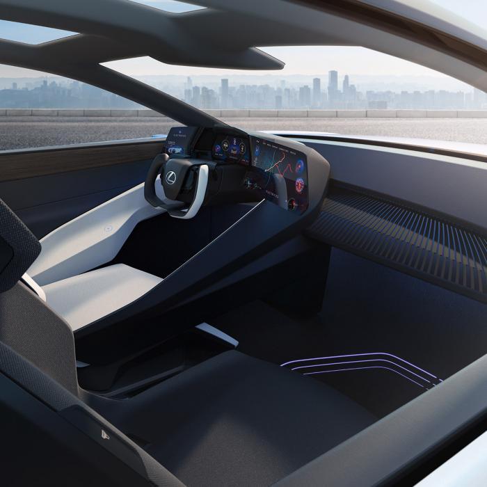 Elektrische Lexus LF-Z Electrified heeft geen predatormuil meer