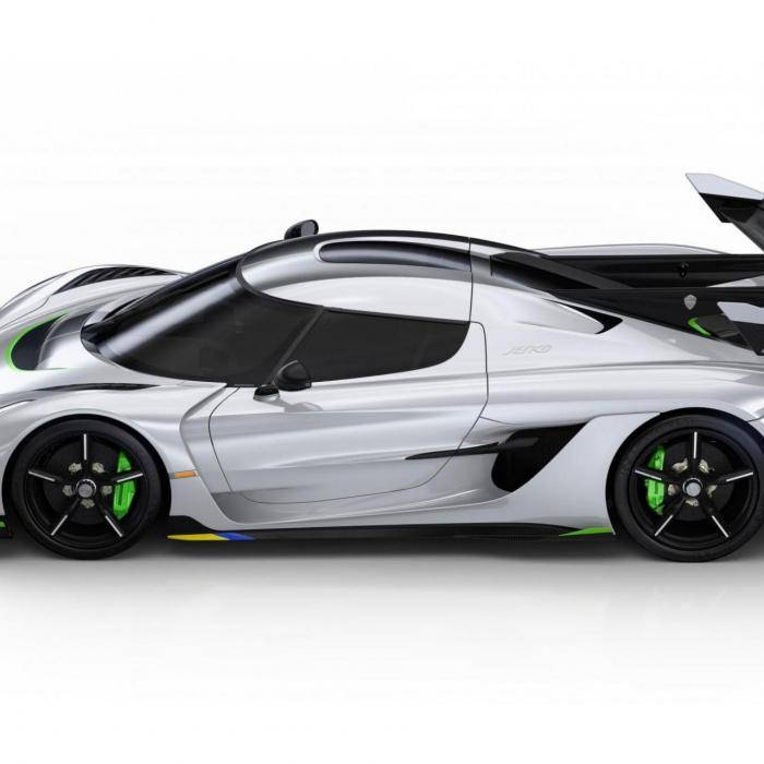 Koenigsegg Jesko: Ultieme Speed Zweed: Koenigsegg Jesko