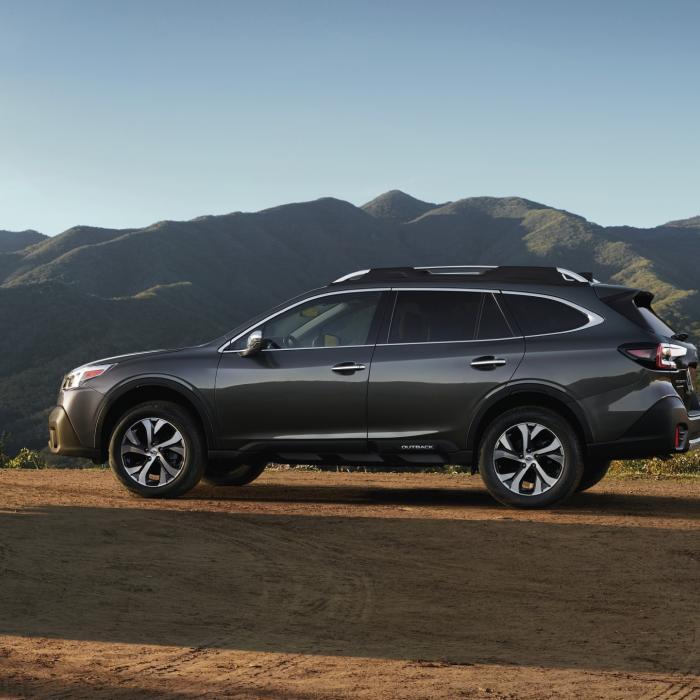 Zien jullie het verschil met de vorige Subaru Outback?