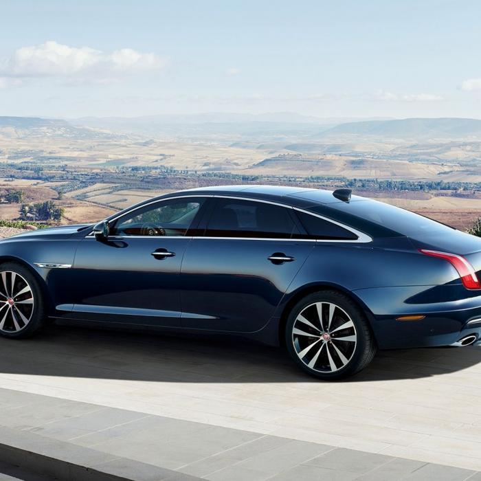 Uitzwaaien: De Jaguar XJ was moderne kunst