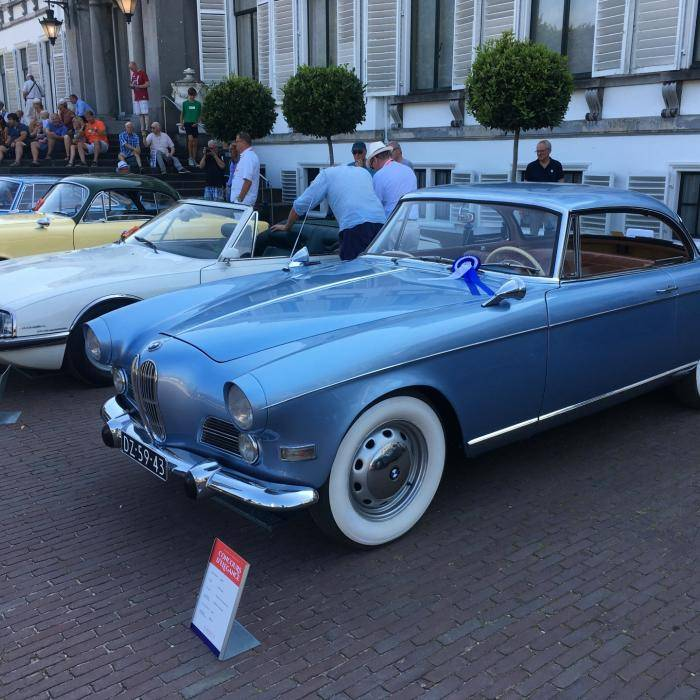 Het Concours d'Elegance op Paleis Soestdijk gaat dit jaar niet door