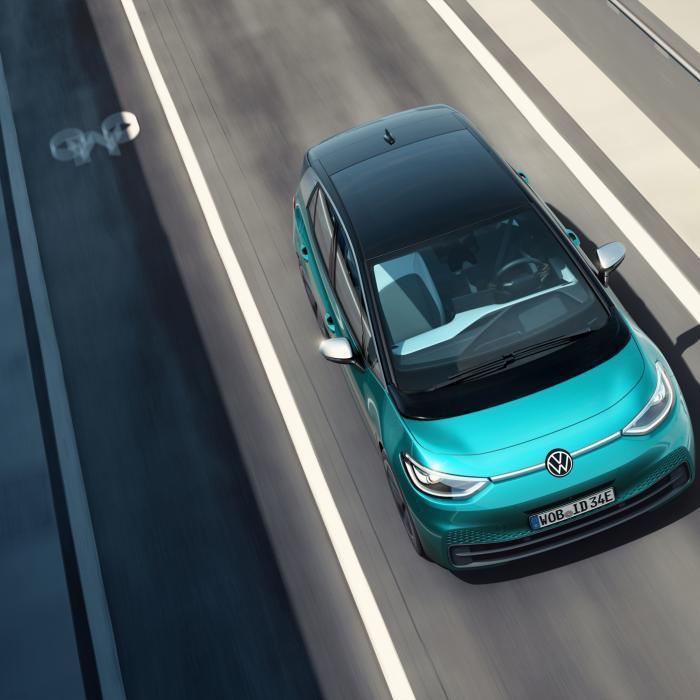 Elektrische Volkswagen ID.3 loopt geen vertraging op