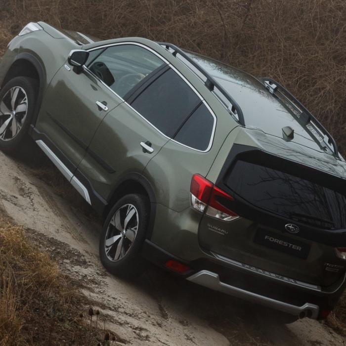 Wat is er zo opvallend aan de Subaru Forester e-Boxer?