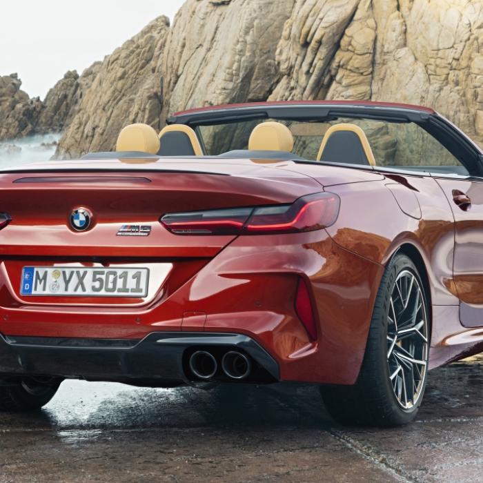 Voor de BMW M8 betaal je 50.000 euro aan BPM!