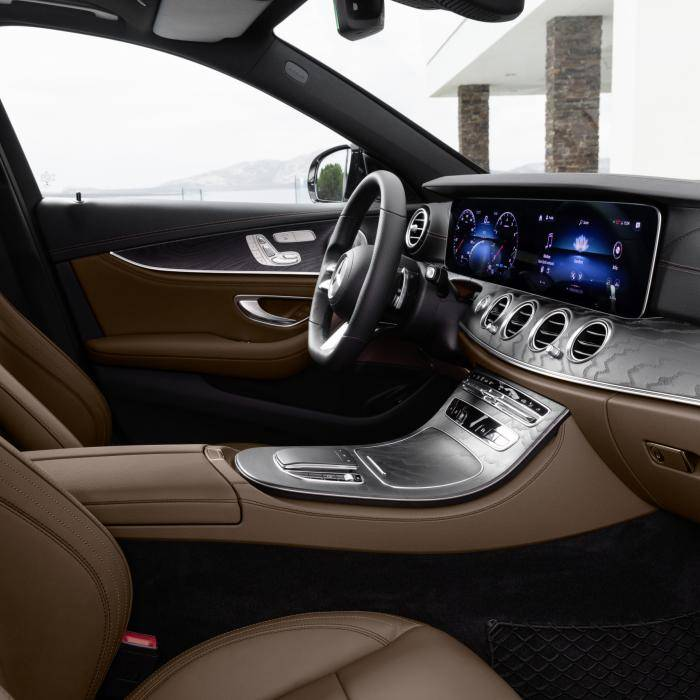 Vernieuwde Mercedes E-Klasse kost net geen 60.000 euro