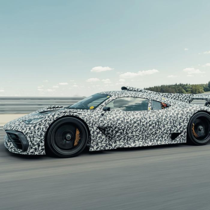 Mercedes-AMG Project One schiet voor geen meter op