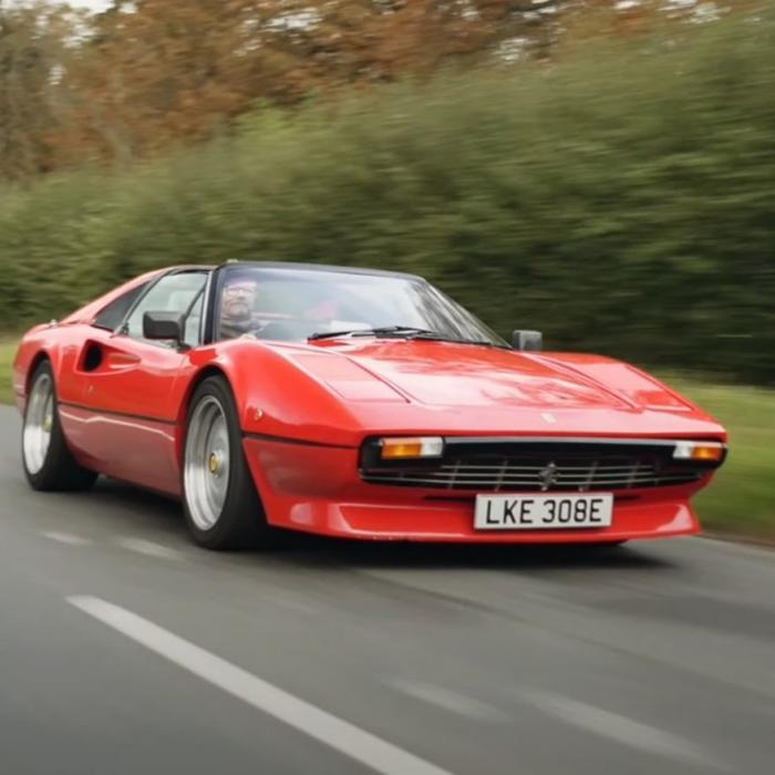 Heiligschennis of briljant? Elektrische Ferrari 308 GTS met 500 pk