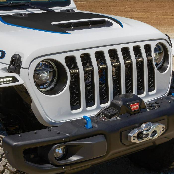 Elektrische Jeep Wrangler Magneto: Zijn er laadpalen in de wildernis?
