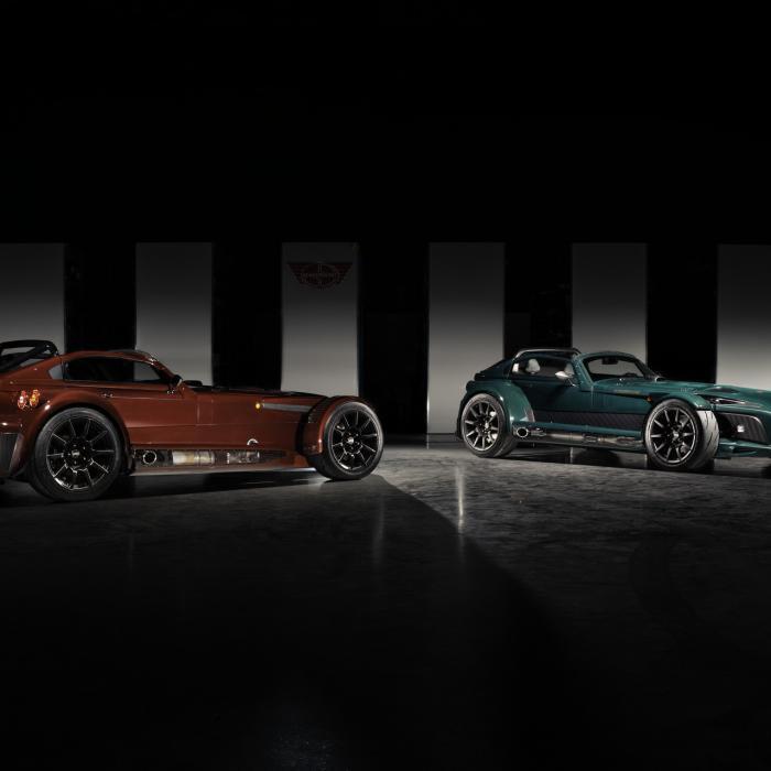 Donkervoort D8 GTO-JD70 nog exclusiever als Bare Naked Carbon Edition