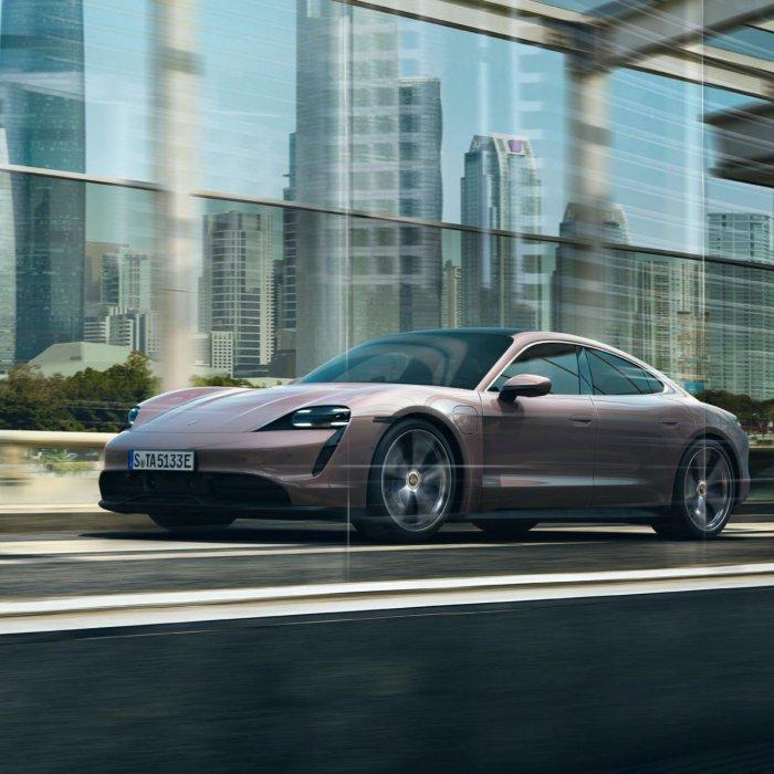 Porsche Taycan-basismodel heeft alleen achterwielaandrijving