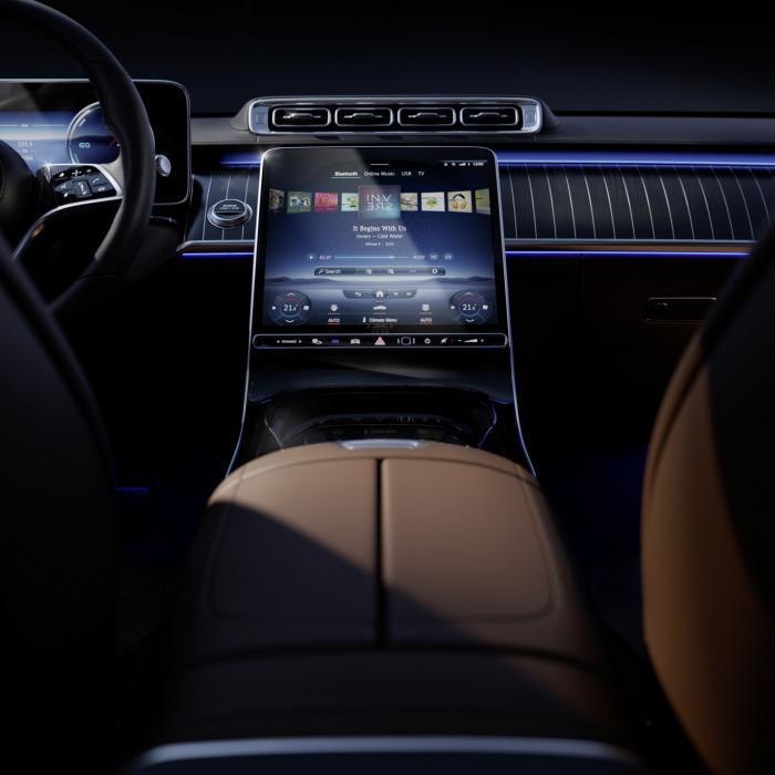 Nieuwe Mercedes S-Klasse heeft een 'glass cockpit'