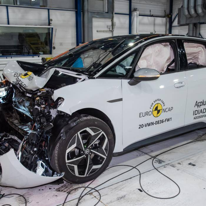 Elektrische Volkswagen ID.3 krijgt maximale score na botsproeven