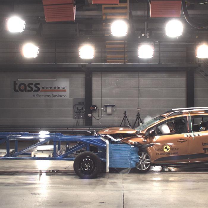 Waarom de Dacia Sandero maar 2 van de 5 sterren krijgt in de crashtest van Euro NCAP