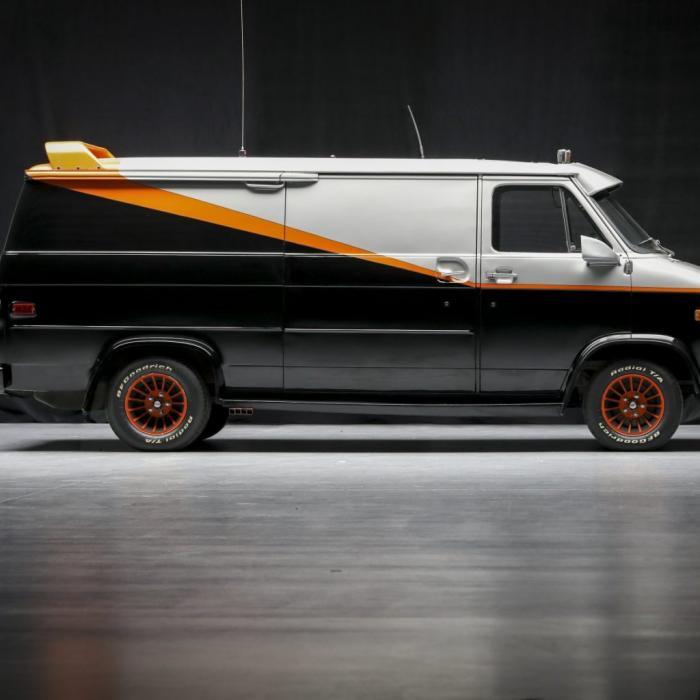 'I pity the fool' die niet deze officiële A-team-bus koopt!