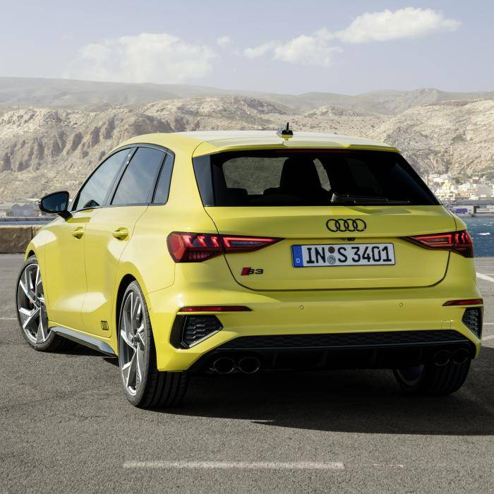 Audi S3 Sportback en Limousine zijn gemaakt om te bumperkleven