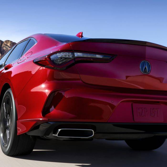 Deze Acura TLX krijgen wij niet. En dat is jammer