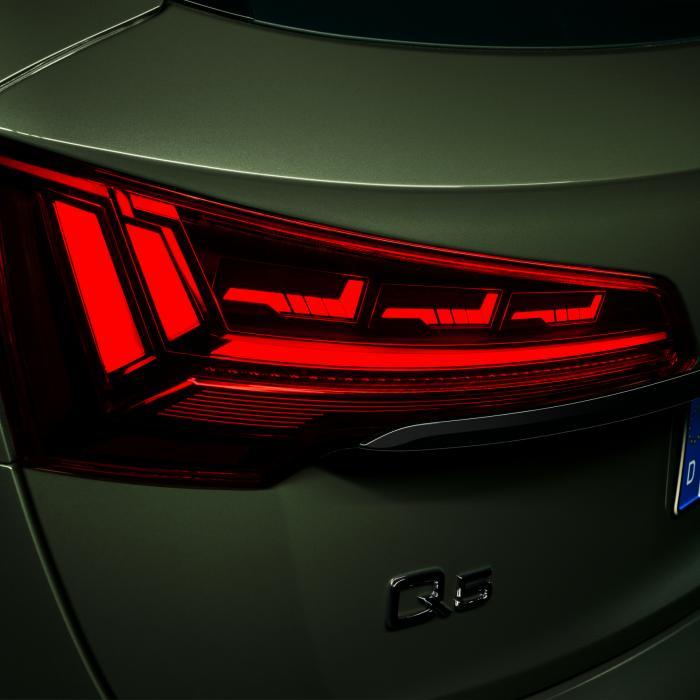 Bij de vernieuwde Audi Q5 kun je je eigen achterlichten kiezen