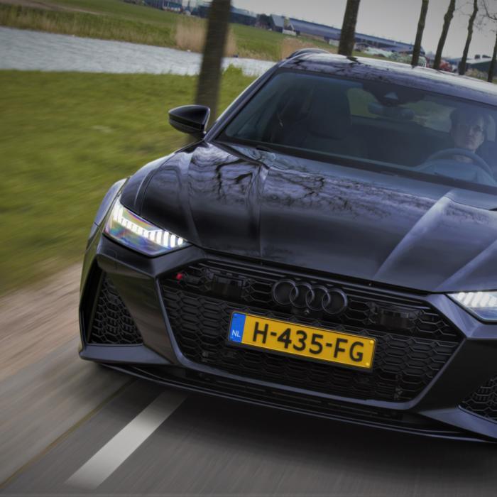 Wat valt er op aan de Audi RS 6 Avant?