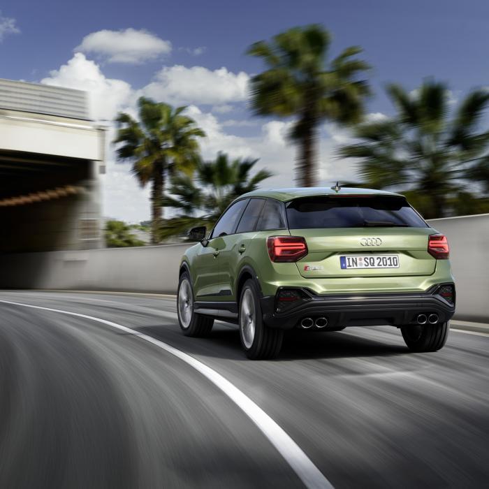 Maar natuurlijk is de Audi SQ2 nu ook gefacelift!