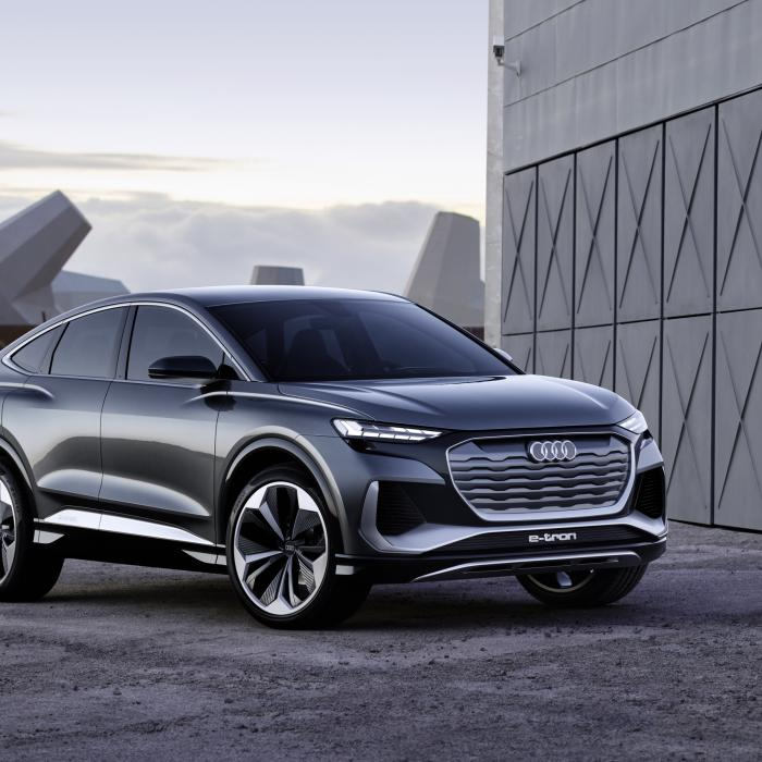 Audi Q4 Sportback E-Tron Concept Komt Volgend Jaar Op De