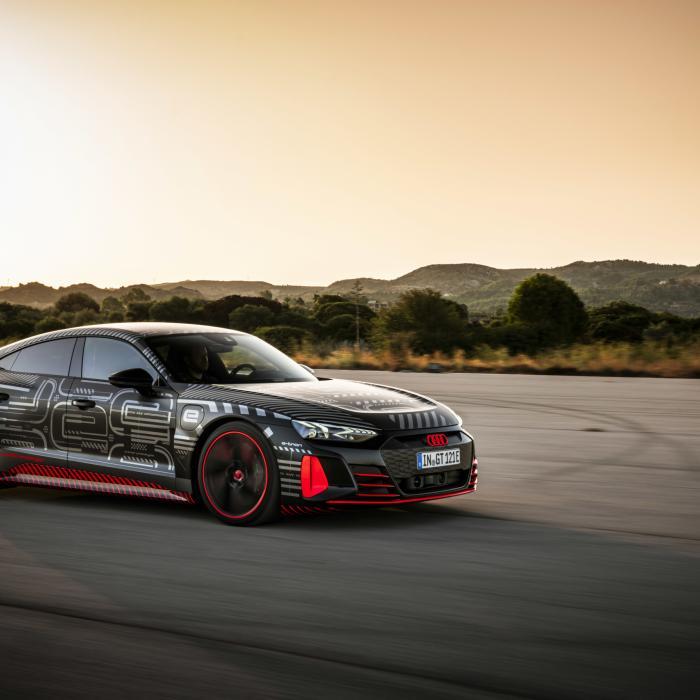 Foto's Audi E-Tron GT voortijdig op het web