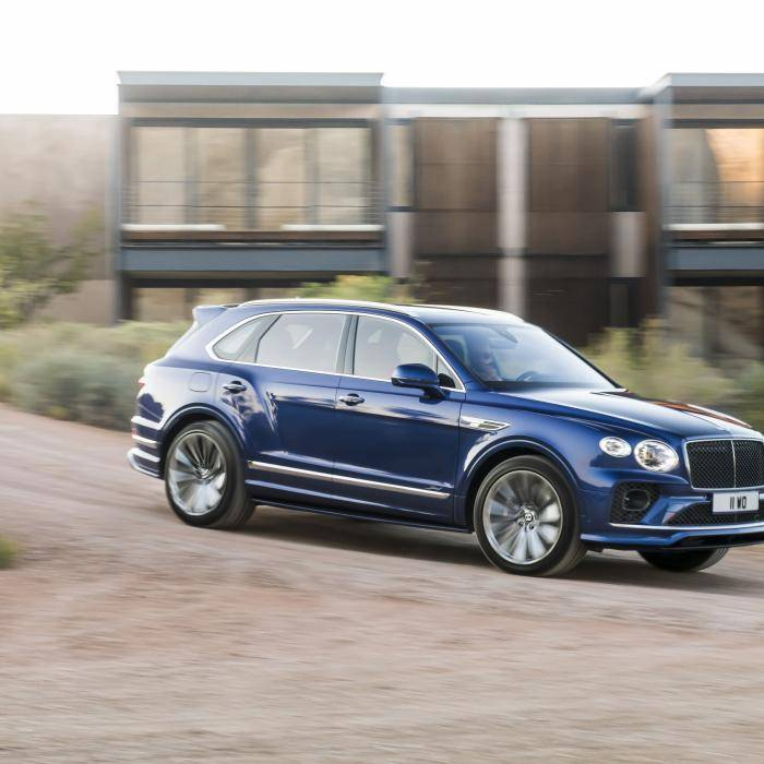 Nieuwe Bentley Bentayga Speed staat strak van de ... speed