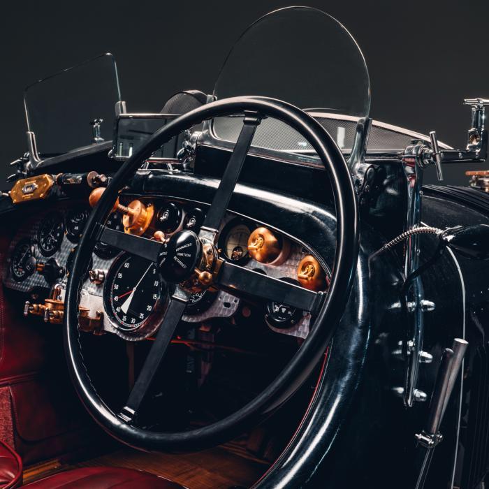 90-jarige Bentley Blower tot leven gewekt