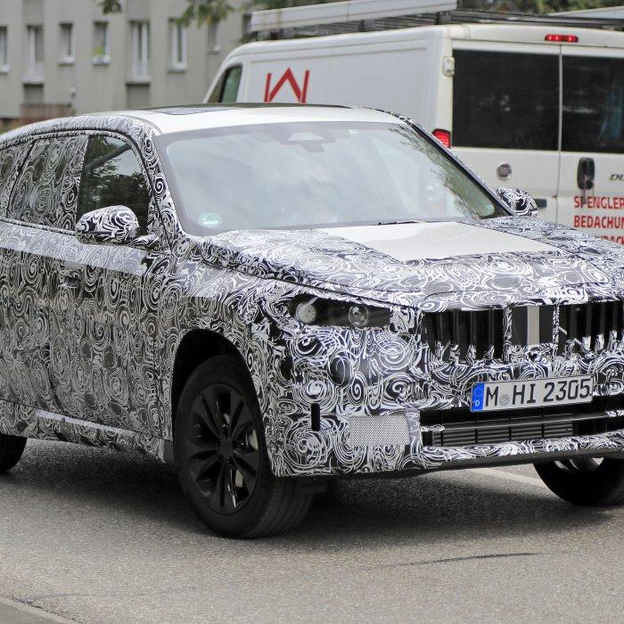 Derde generatie BMW X1 gesnapt