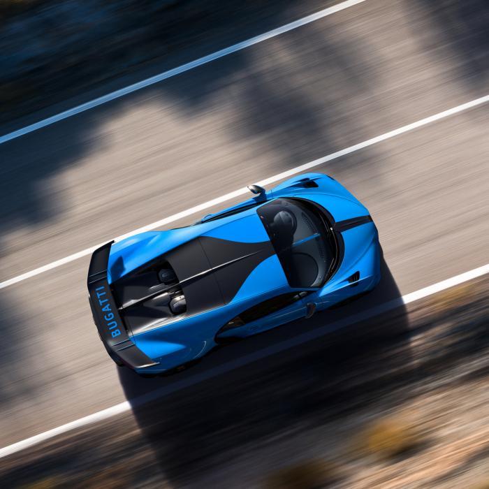 Dit is geen X-Wing uit Star Wars, dit is een Bugatti