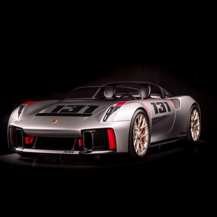 Porsche Unseen - Porsche onthult nooit eerder getoonde concept cars