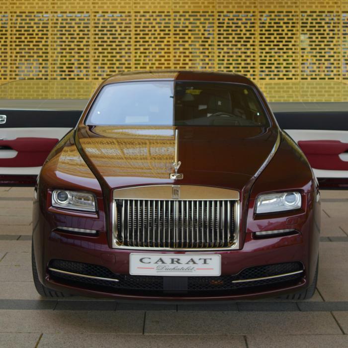 Hoera, je hond kan nu ook mee in de Rolls-Royce Wraith